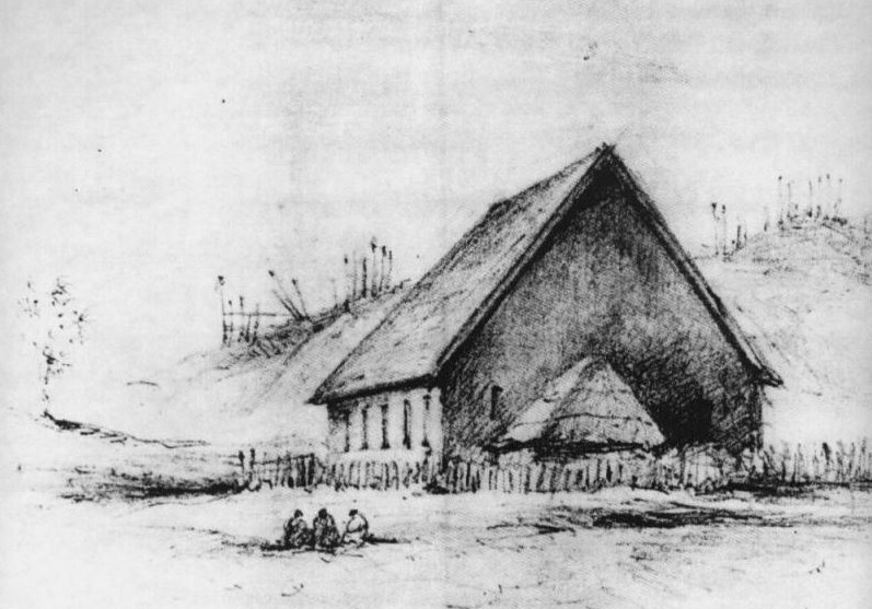 Hadfield's Kena Kena Church 1846 - Museum of NZ Te Papa