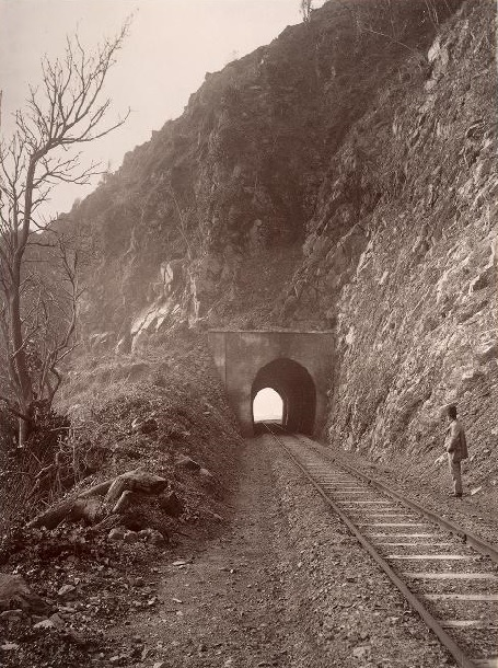 Wellington Manawatu Railway Company's Tunnel