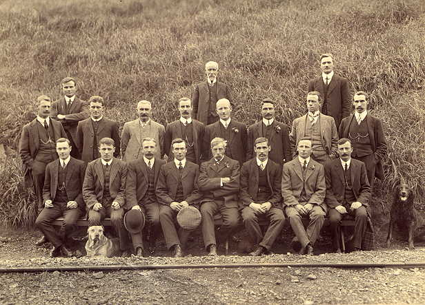 Paekakariki Railway staff, around 1913.