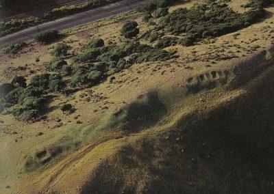 Kumara storage pits above Paekakariki - Jon Tohu