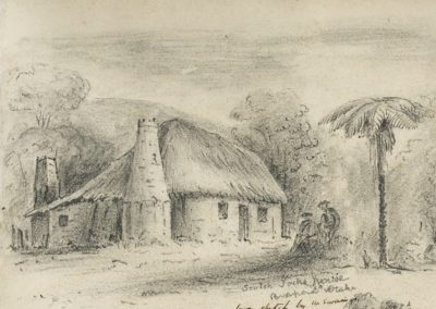 Scotch Jock's house Parapara, Otaki - Alexander Turnbull Library