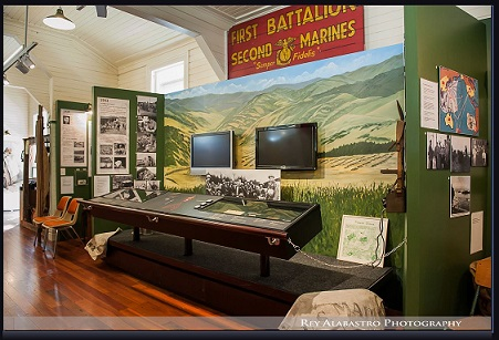 US Marine Section of Museum