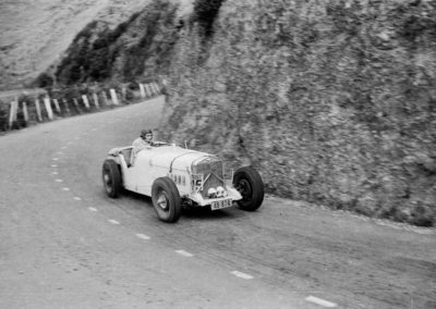 Allen Freeman in Thompson Special - Paekakariki Hill Climb 1949 - Alexander Turnbull Library
