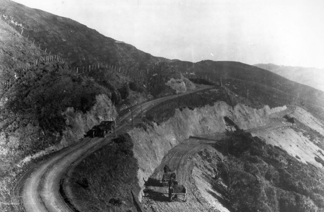 Paekakariki Hill Road - 1920