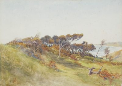 Coast near Paekakariki, 1911, by Edward Barraud - Te Papa