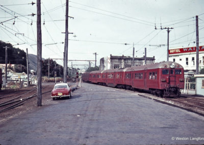 Paekakariki Down Suburban Train 23 December 1963 - Weston Langford