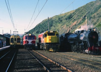 Special line-up of Motive Power 15 May 1983 - Grant Hinton