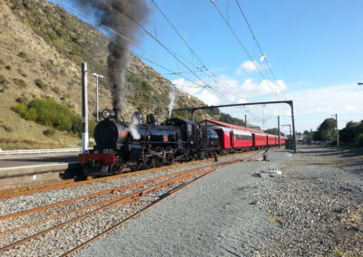 AB 608 Anzac Express 25 April 2015 - Christine Johnson