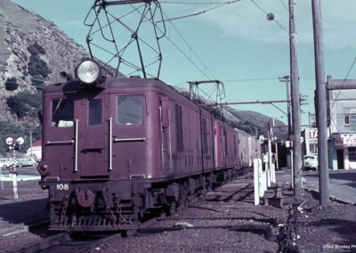 Eds on the oil train Paekakariki September 1968 - Chris Bradley
