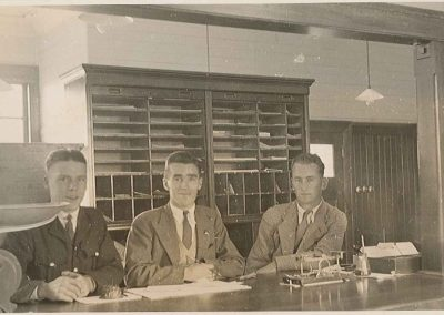 PO employees inside Post Office - Carson Collection