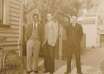 Staff outside Post Office Building - Carson Collection