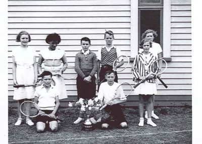 Junior Tennis Club members - May 1963 - Carson Collection